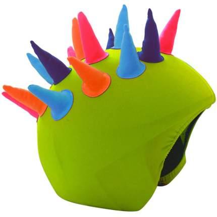 Нашлемник Coolcasc Neon Horns 30 x 30 x 2 см зеленый/разноцветный