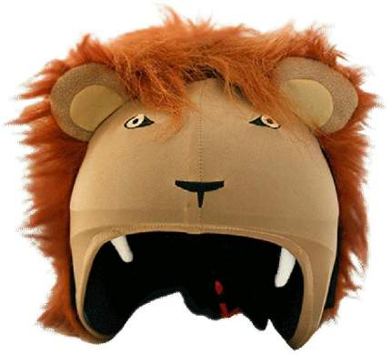 Нашлемник Coolcasc Lion 30 x 30 x 2 см бежевый/коричневый
