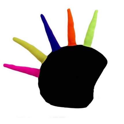 Нашлемник Coolcasc Crest 30 x 30 x 2 см разноцветный/черный