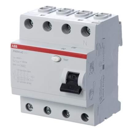 Выключатель дифф. тока ABB F204 (2CSF204003R3400) 40A 300мА AC 4П 400В 4мод