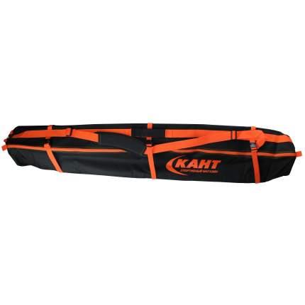 Чехол для горных лыж Кант Omega-1, black, 130 см