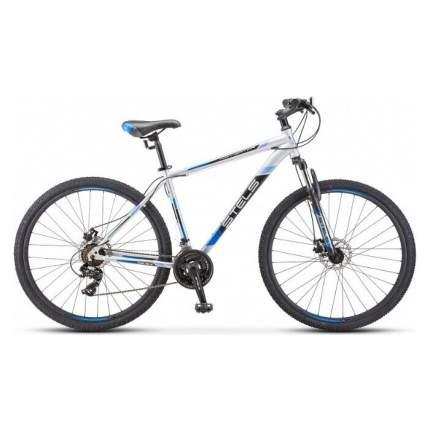 "Велосипед Stels Navigator 900 MD 29 F010 2019 17.5"" серебристый/синий"