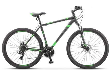 """Велосипед Stels Navigator 900 MD 29 F010 2019 17.5"""" черный/зеленый"""