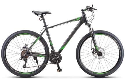"""Велосипед Stels Navigator 720 MD 27.5 V010 2021 17"""" темный чирок"""