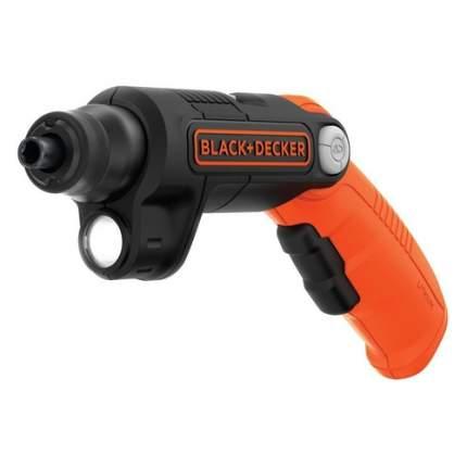 Аккумуляторная отвертка BLACK+DECKER BDCSFL20C-QW