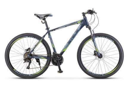 """Велосипед Stels Navigator 720 D 27.5 V010 2020 17"""" темный синий"""