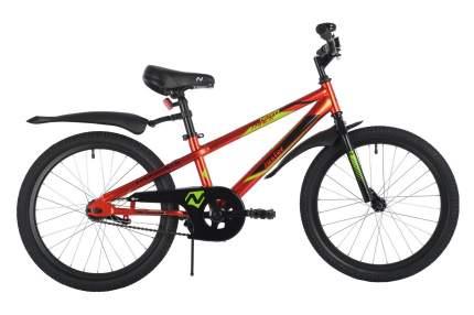 Велосипед Novatrack Juster 2021 One Size красный
