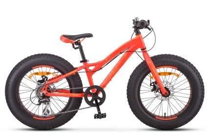 """Велосипед Stels Agressor MD 20 V010 2019 11"""" неоновый красный"""