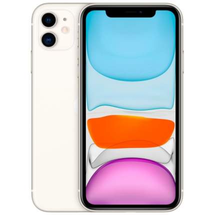 Смартфон Apple iPhone 11 64GB с новой комплектацией White (MHDC3RU/A)