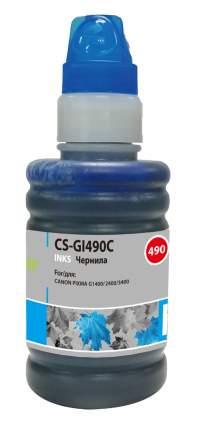 Чернила для струйного принтера CACTUS CS-GI490C, голубой, совместимый