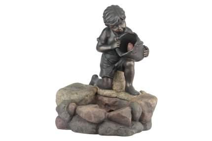 Фонтан напольный (64 см) Девочка с рыбкой GWXF01185 Б0008229