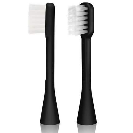 Сменная насадка для зубной щетки Hapica Панда от 3 до 10 лет, 2 шт,черный