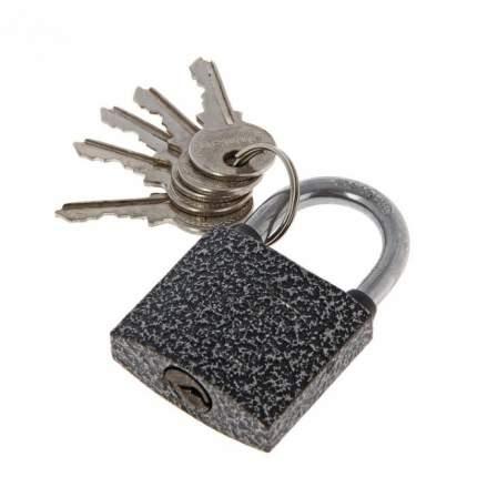 Замок навесной ВС1Ч-340, дужка d=5 мм, полимер, 5 ключей, АЛЛЮР