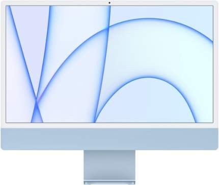 Моноблок Apple iMac 24 M1\8\256\8-core GPU Blue (MGPK3RU/A)