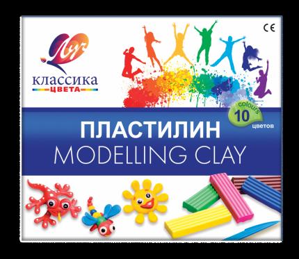 Пластилин ЛУЧ Классика 10 цветов 7С304-08