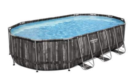 Каркасный бассейн Bestway 610 x 366 x 122 см овальный с набором  5611R