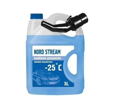 """Жидкость стеклоомывающая низкозамерзающая """"Nord Stream"""" 5л марки - 25"""