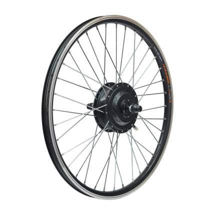 Мотор-колесо редукторное заднее 250-350Вт, 36-48В, спицы серые