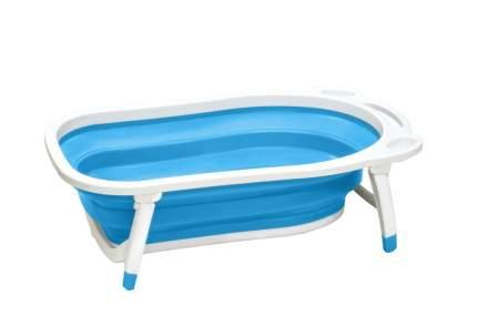 Детская складная ванна Markethot Folding Baby Bathtub, голубой