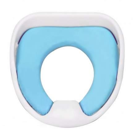Детское мягкое сиденье для унитаза Markethot COMFY TRAINER Голубой