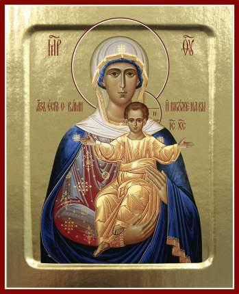 Икона Пресвятой Богородицы Азъ Есмь С Вами (совр. письмо) на дереве: 125х160