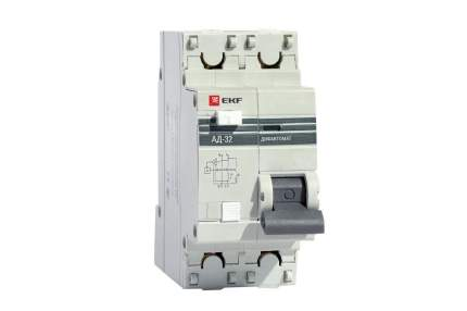 Диф. автомат EKF DA32-25-10-pro