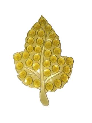 Полочка-липучка с двусторонними присосками Листик (Цвет: Жёлтый  )