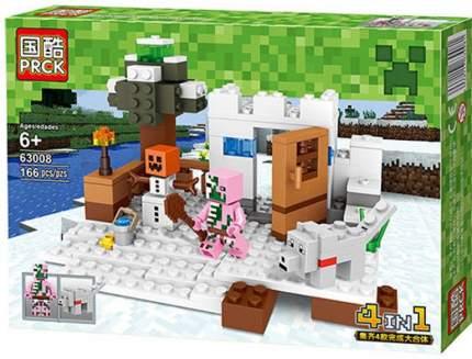 Конструктор PRCK Minecraft Разный мир, 166 деталей