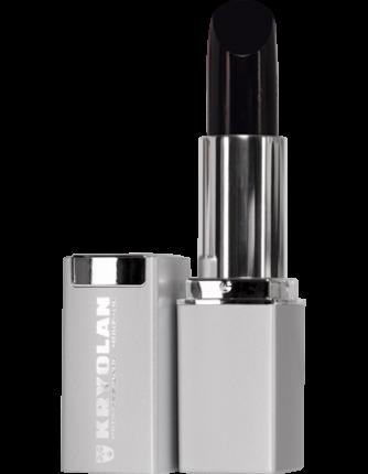 Помада для губ в стике UV/Lipstick UV (Цв: Black)/Kryolan/1202-Black