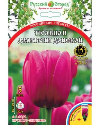 Тюльпан Дмитрий Донской Русский огород 201320