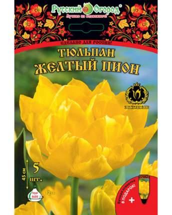 Тюльпан Желтый пион Русский огород 201337