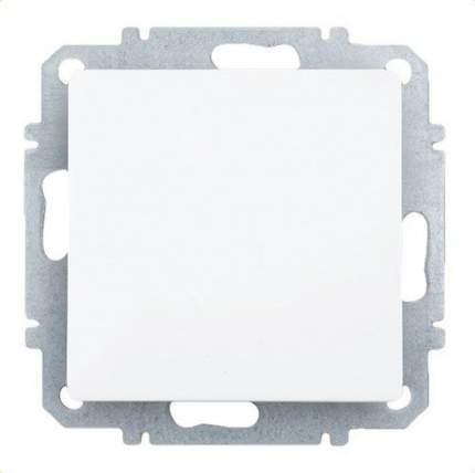 Выключатель одноклавишный Zakru CLASICO (Белый)