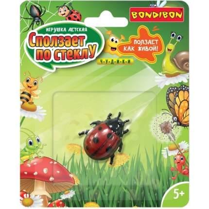 Детская игрушка Bondibon Чудики Сползает по стеклу Божья коровка ВВ4269