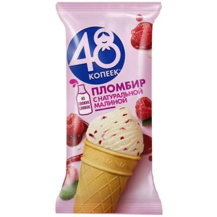 Бзмж мороженое 48 копеек малина стакан 91г