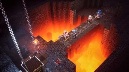 Игра Minecraft Dungeons для Nintendo Switch