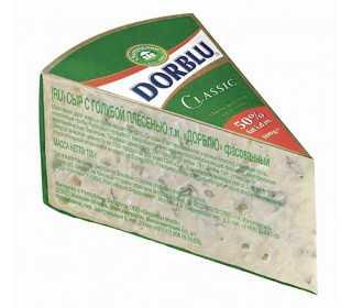 Сыр Dorblu Classic с голубой плесенью 50%, 100 г БЗМЖ