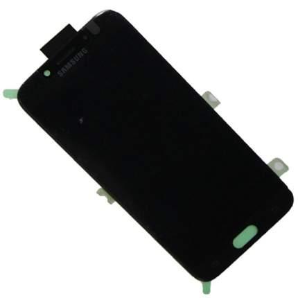 Дисплей для Samsung Galaxy J7 2017 в сборе с тачскрином (AMOLED с регул. подсветки) черный