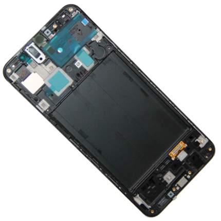 Дисплей для Samsung SM-A305F (Galaxy A30) модуль в сборе с тачскрином, черный (OEM)