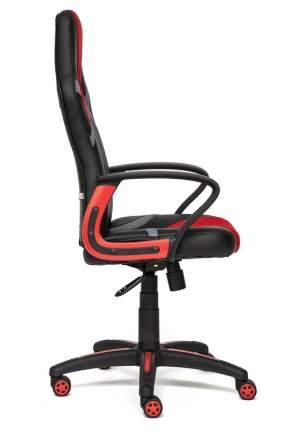 Игровое кресло TetChair Runner, красный/черный