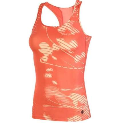 Майка Asics Fitted Tank, shadow coralicious, XS