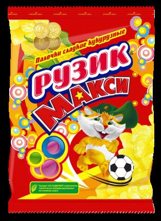 Палочки кукурузные Рузик Макси сладкие с витаминами и железом 10 упаковок по 150 г