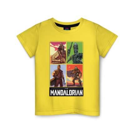 Детская футболка ВсеМайки The Mandalorian, размер 116
