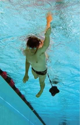Пояс тормозной для плавания с парашютом Finis Swim Parachute, синий 12 дюймов