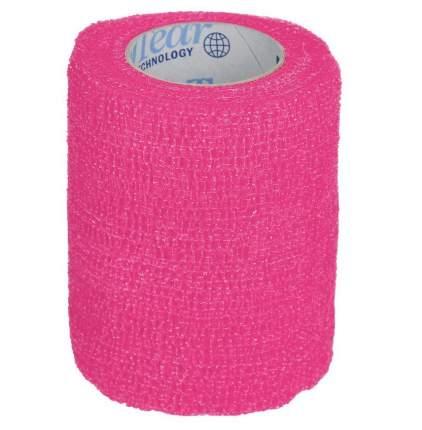 Ветеринарный эластичный бинт GRODO 5см х 4,5м, розовый