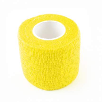 Ветеринарный эластичный бинт GRODO 5см х 4,5м, желтый