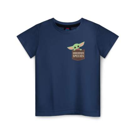 Детская футболка ВсеМайки Child Yoda, размер 116