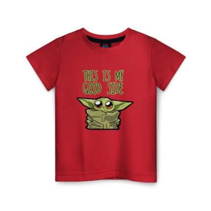 Детская футболка ВсеМайки Child Yoda, размер 158