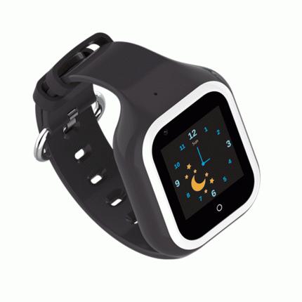 Детские смарт-часы Wonlex Smart Baby Watch KT21 White/Black