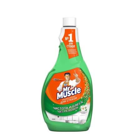 Mr. Muscle Средство для мытья стекол Профессионал Утренняя роса сменная бутылка 500 мл