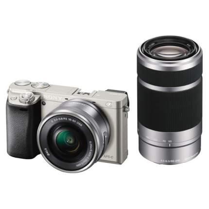 Фотоаппарат системный Sony Alpha A6000 16-50mm Silver